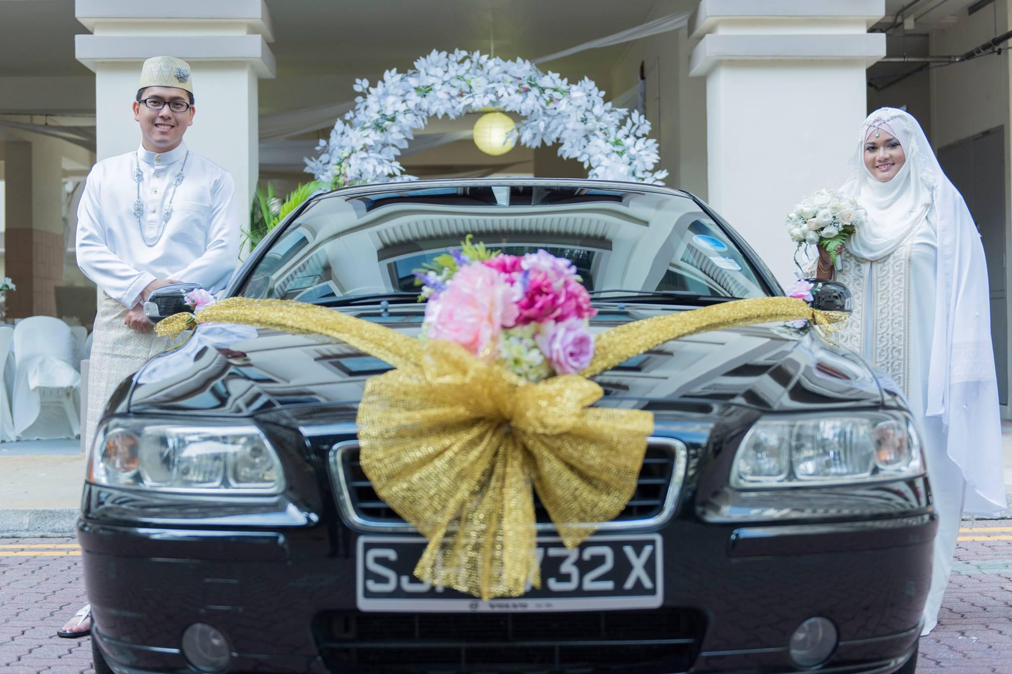 Wedding Car Decoration , Artificial Flowers